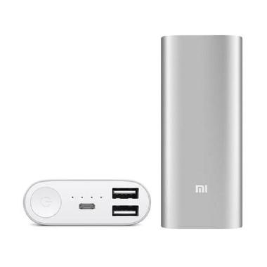 Powerbank Xiaomi 38000 mAh - Silver ... ginal Xiaomi Piston 2nd ]