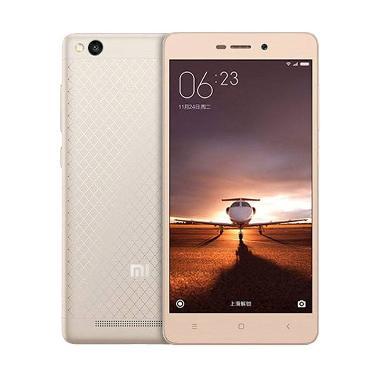 Xiaomi Redmi 3 Smartphone - Gold [2GB/16GB]