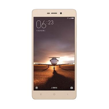 Xiaomi Redmi 3S Pro Smartphone - Gold [32 GB/3 GB/Garansi Distributor]