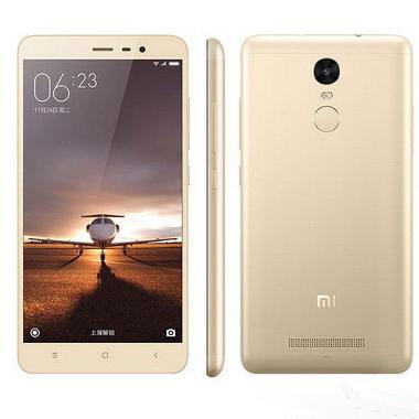 Xiaomi Redmi Note 3 4G LTE Gold Sma ... nsi Distributor/Mediatek]