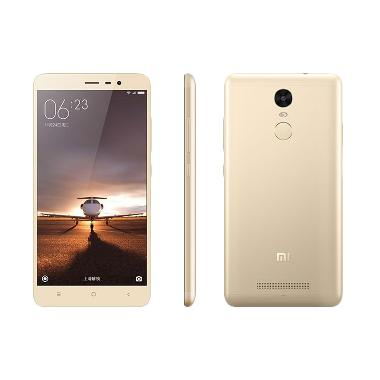 Xiaomi Redmi Note 3 Pro Smartphone - Gold [2GB/16GB]