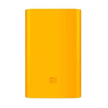 Xiaomi Original Silicone Casing for ... rbank - Oranye [5000 mAh]