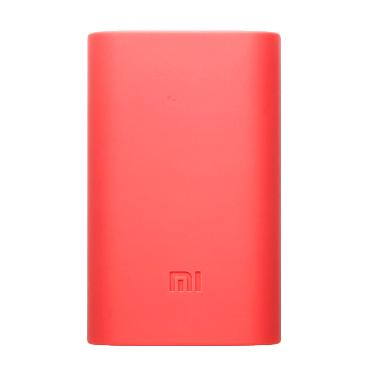 Xiaomi Original Silicone Casing for Xiaomi Powerbank - Pink [5000 mAh]