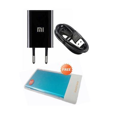 Jual Xiaomi Travel Charger [5V-1A] + Free PowerBank Slim 5800mAh Harga Rp 69800. Beli Sekarang dan Dapatkan Diskonnya.
