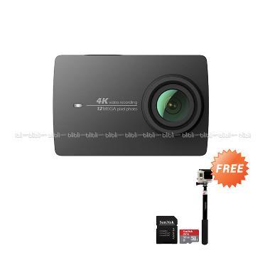 Xiaomi Yi 4K Mark II Ver.2 Internat ... eme Action Camera - Hitam