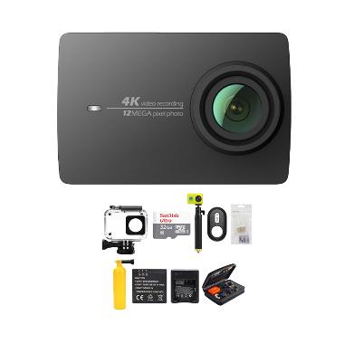Xiaomi Yi 4K Mark II Action Cam - H ... on/ Combo Paket Complete]