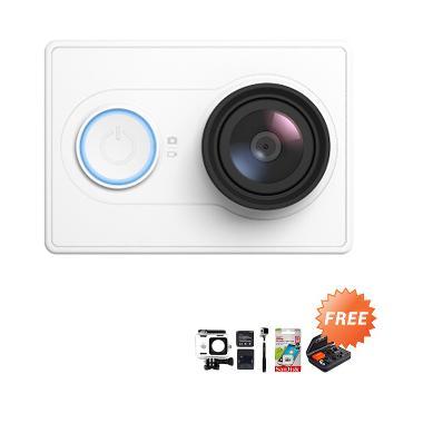 Xiaomi Yi Combo Extreme Original Action Cam - Putih + Free Bundling