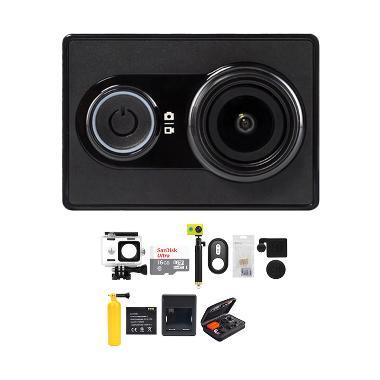 Xiaomi Yi International Version Com ... ete Action Camera - Hitam