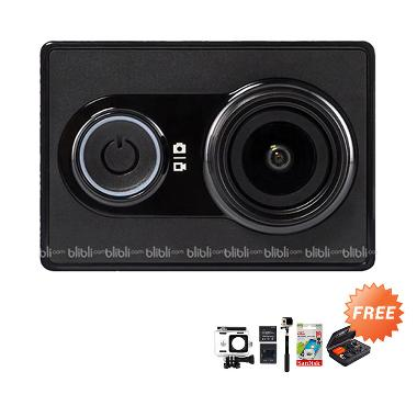 Xiaomi Yi International Vesion Comb ... ction Cam - Black Edition