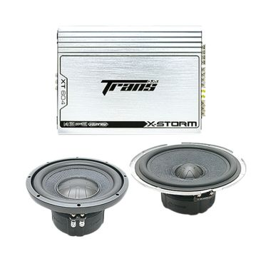 PROMO Paket Audio Murah Trans X-Strom set speaker Mobil [3 pcs]