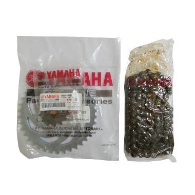 Yamaha Genuine Parts Chain & Sprocket Kit (50C1)