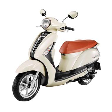 Yamaha Grand Filano Sepeda Motor - New White [DP 6.000.000]