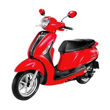 Yamaha Grand Filano Sepeda Motor - Vivid Red Metallic [DP 6.000.000]