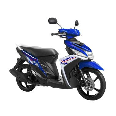 Yamaha Mio M3 125 CW Creative Blue Sepeda Motor [OTR Jawa Timur]