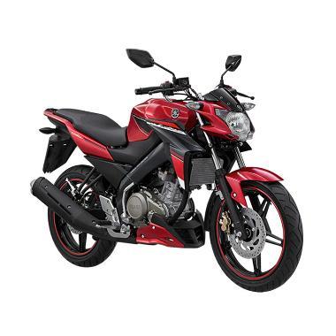 Yamaha New Vixion Advance Stizza Black Red Sepeda Motor [OTR Jember]