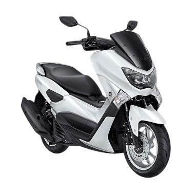 Yamaha NMAX Non ABS Premier White Sepeda Motor