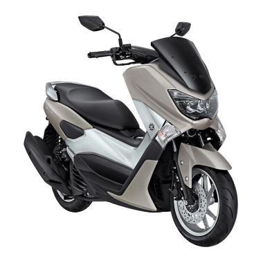 POM - Yamaha NMAX Non ABS Supreme Gunmetal Sepeda Motor [OTR Malang]