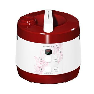 Yong Ma MC 2760 R Teflon BlackTinum Wing Rice Cooker - Merah
