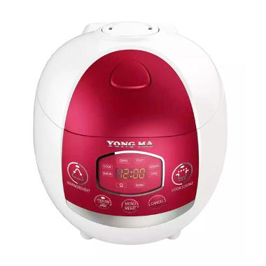 Yong Ma MC1380 Red Digital Rice Cooker [1.3L]