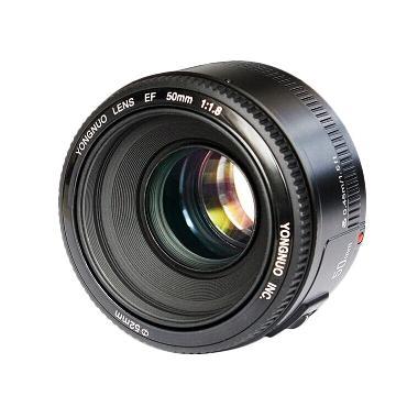 Yongnuo 50mm F1.8 Lensa Kamera