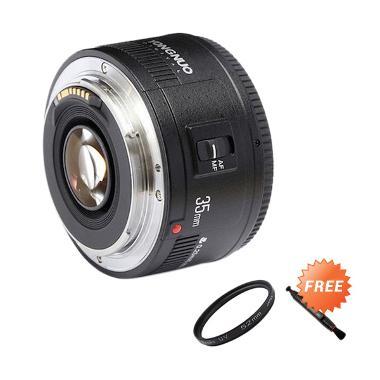 Yongnuo Lens Ef 35mm F/2.0 Lensa Ka ...  Filter Uv 52mm + Lenspen