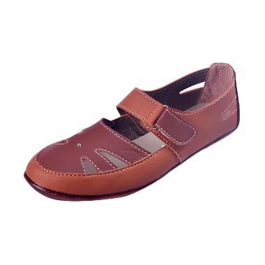 Yutaka Flat Shoes - Coklat