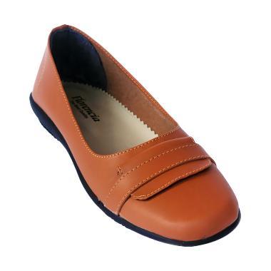 Yutaka Florencia yuraka sepatu wanita Formal Flat ... 510e051338