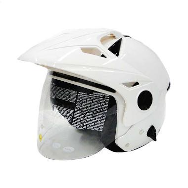 Zeus ZS-612C Helm Halfface - White