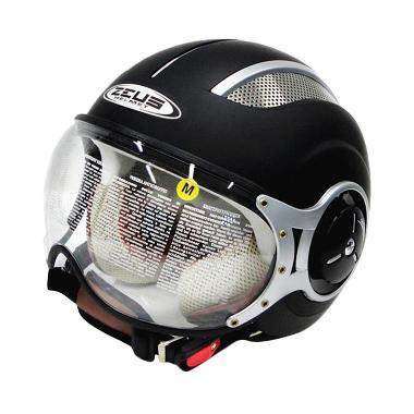 Zeus Import Zs-218  Retro Helm Half Face - Matt Black