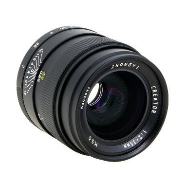 ZHONG YI 35mm F/2.0 Black Lensa Kamera for Canon