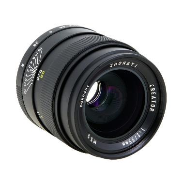ZHONG YI 35mm F/2.0 Black Lensa Kamera for Nikon