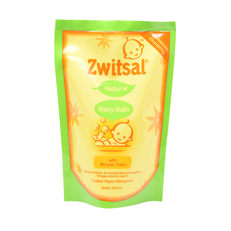 Zwitsal Baby Bath Natural with Minyak Telon 250ml