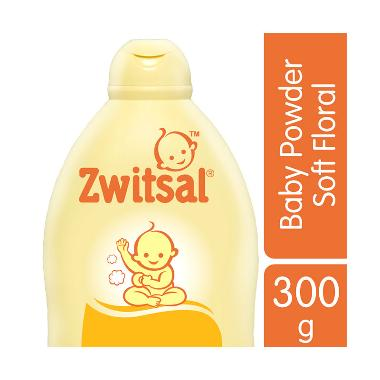 Zwitsal Classic Baby Powder Soft Floral 300gr - 60024446
