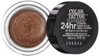Maybelline 24 Hour Eyeshadow Bad To The Bronze