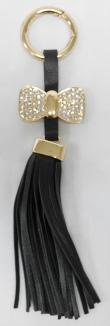 SIV GT RK06 Rumbai Ribbon with Manik Key Chain - Black