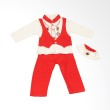 Adore Baju Koko Anak Merah - 24 Mos