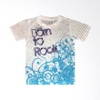 Stella Blu Clothing Born To Rock White