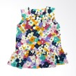 Babylon Dress Anak Perempuan Flower Pop Art Lot 251