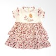 Babylon Lovely Daisy Lot 280 Merah Dress Anak