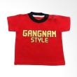 Calmet Kaos Kreatif Pendek Gangnam Style Merah