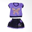 Tokusen ST T-Shirt + Rok Sun Flower Purple