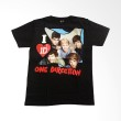 Hot Rock One Direction Tulisan Merah Warna Hitam