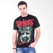 Hot Rock SlipKnot Kotak Hijau Black