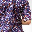 Batik Distro BA3263 Biru Atasan Wanita