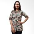 Batik Distro Blus Kantor Hijau B9390