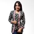 Batik Distro Blus Kebaya Old Green B9371