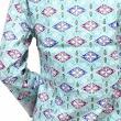 Batik Distro Blus Pita Fix BA2996 Hijau Atasan Wanita