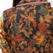 Batik Distro BA2963 Coklat Atasan Wanita
