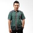 Batik Distro Kemeja Batik Junkis Hijau K6005