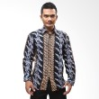 Batik Distro Kemeja Batik Parang Biru K5967